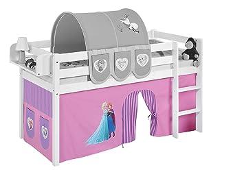 Vorhang Für Etagenbett : Vorhang eiskönigin lila für hochbett spielbett und etagenbett