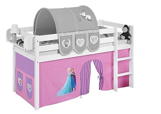 Etagenbett Vorhang Cars : Vorhang eiskönigin lila für hochbett spielbett und etagenbett