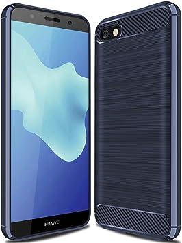 Geemai Huawei Y5 2018 Funda Fina de Silicona, Huawei Y5 2018 Funda ...