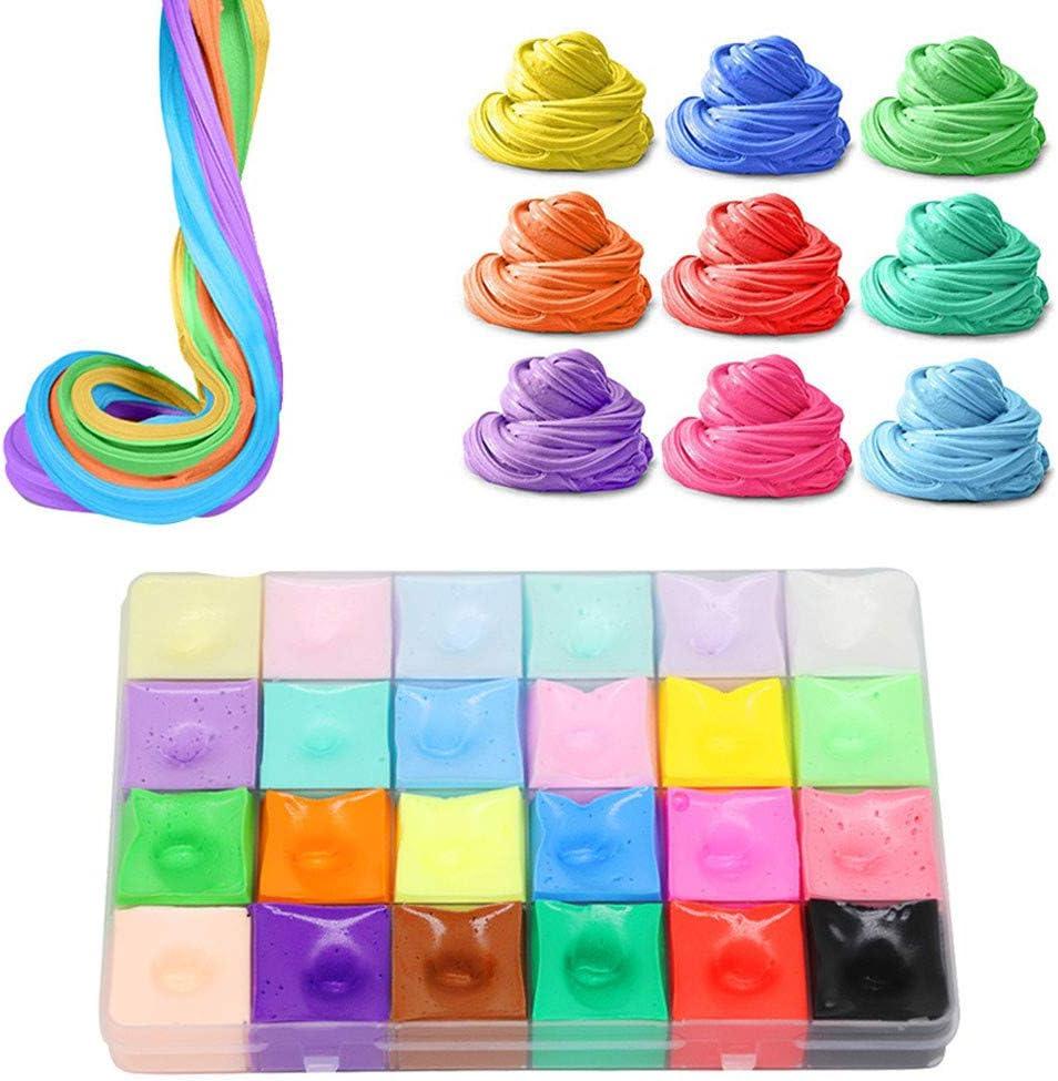 Lukame 500 ml Juguete de descompresión 24 colores a juego Colores ...