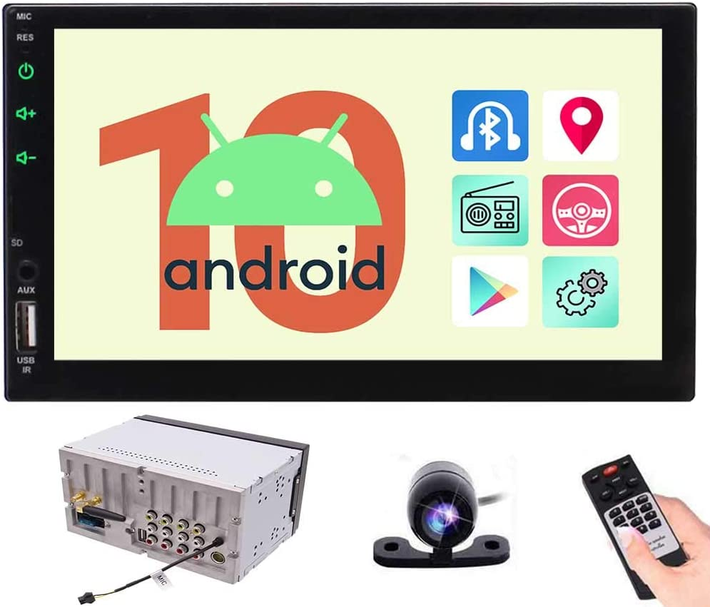 "1 Din Android 9.1 10.1/"" HD 2GB+32GB Car Navigation Wifi 3G 4G BT DAB Mirror Link"