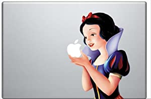 Superior Printing Snow White Holding Apple Decal Retina Vinyl Sticker for 13 Inch Macbook pro Air (4406963)