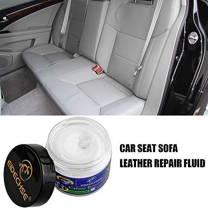 Kaersishop Leather Repair Cream Auto Autositz Sofa Mäntel Löcher Kratzer Risse Risse Flüssiges Leder Repair Tool Restaurierung Leder Vinyl Repair Kit Küche Haushalt