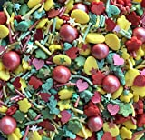 Easter Sprinkles Gluten GMO Nut Dairy Soy Free Cake Decoration (2 lbs)