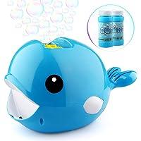 Betheaces Automatic Whale 2000 Bubbles Per Minute Bubble Blower Toy