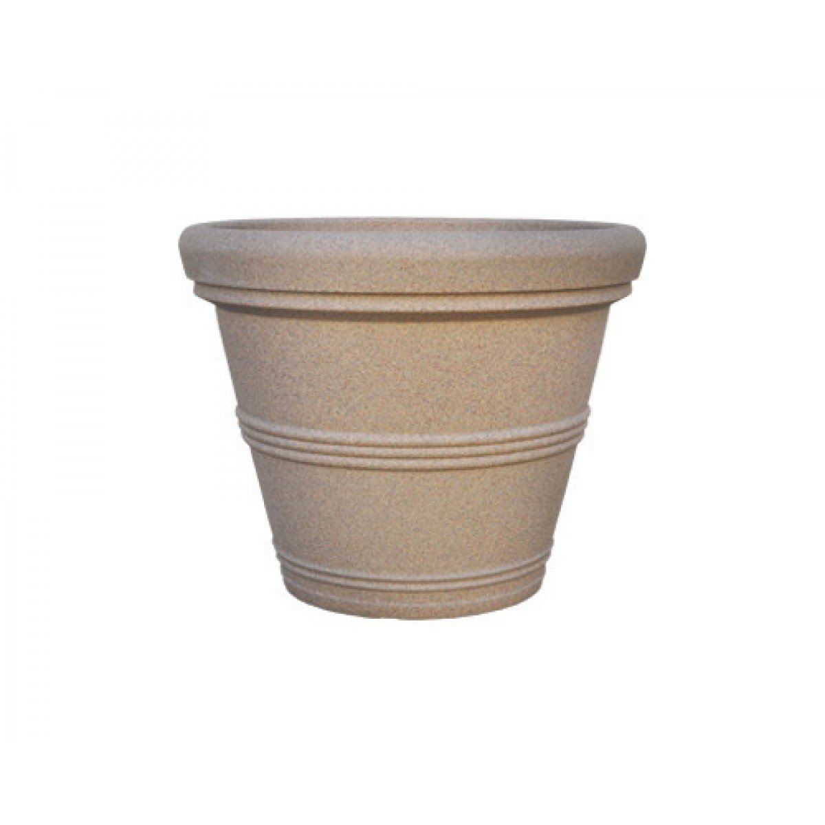 American Essence EP-AESPO-SAN-36 35.5 x 29 in. Spokane Cylinder Planter44; Sandstone by American Essence