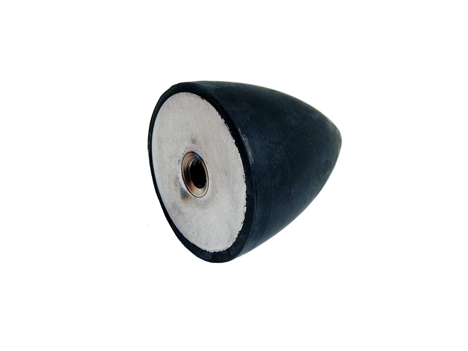 1.77 Height 5//16-18 Thread JW Winco 453.2-38-45-5//16-55 Series GN 453.2 Rubber Conical Vibration//Shock Absorption Mount with Tapped Hole 1.50 Diameter Inch Size