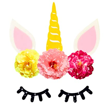 Amazon.com JeVenis Magical Unicorn Party Backdrop Birthday