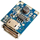 xcluma 5V Lithium Battery Charger Step Up Protection Board Boost Power Module Micro USB Li-Po Li-ion 18650 For Power Bank DIY