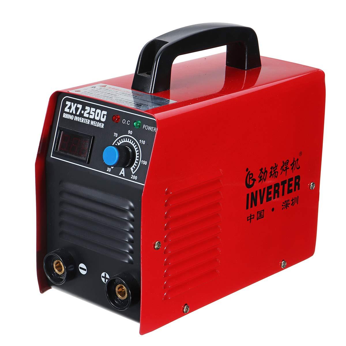 Werse Zx7-250G Igbt Portátil 200Amp 60W Máquina De Soldadura De Inversor Mma/Arc: Amazon.es: Bricolaje y herramientas