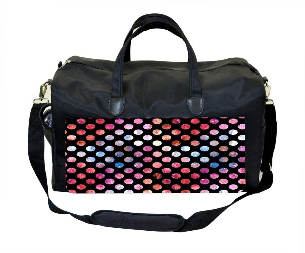 Watercolor Dots Weekender Bag