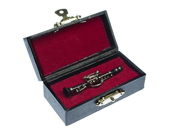 Miniblings Clarinete Clarinete Broche Insignas Pin + Caja