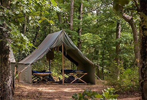 CSFOTO 7x5ft Background for Boy Scouts Jungle Tents Photography Backdrop Training Camp Hard Conditions Physical Exercise Outdoors Photo Studio Props Children Portrait Wallpaper