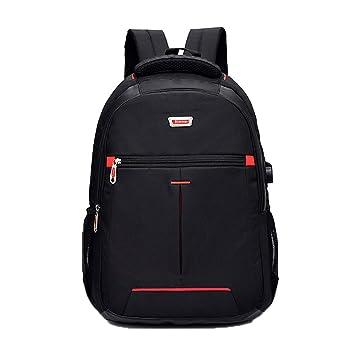 e24ec2631e6ea ZSbag Mit USB Jungen Schultasche Unisex Laptop Rucksack Wasserdicht  Schulrucksack Junior Nylon Ranzen Groß Jugendliche Backpack