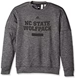 NCAA North Carolina State Wolfpack Men's Sideline Chiseled Team Issue Fleece Crew Sweat Shirt, 3X-Large, Dark Gray