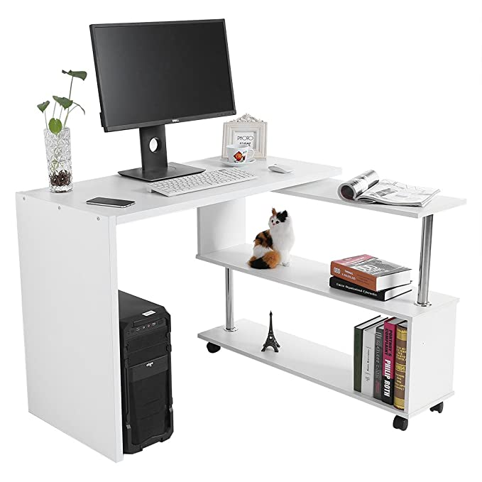 Yosoo Escritorio para Computer escritorio oficina porta pc mesa ...