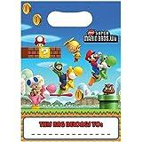 Pochettes à cadeaux super Mario bros (x8)