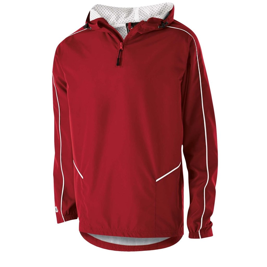Holloway Wizard Youth Pullover (X-Large, Scarlet/White) by Holloway