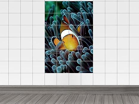 Piastrelle adesivo piastrelle per cucina per bagno motivo pesce