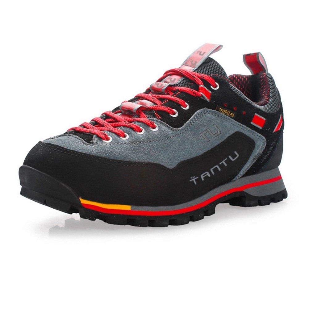 Showlovein Hommes Chaussures de randonnee Chaussures de montagne en escalade Chaussures etanches respirantes
