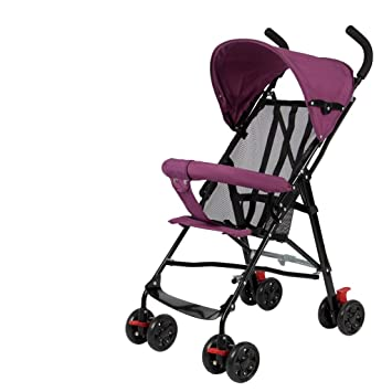 Amazon.com: Baby Stroller puede sentarse reclinable ultra ...