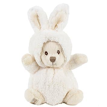 Conejo de peluche osito Ziggy Blanco 15 cm, peluche osito de peluche Conejo