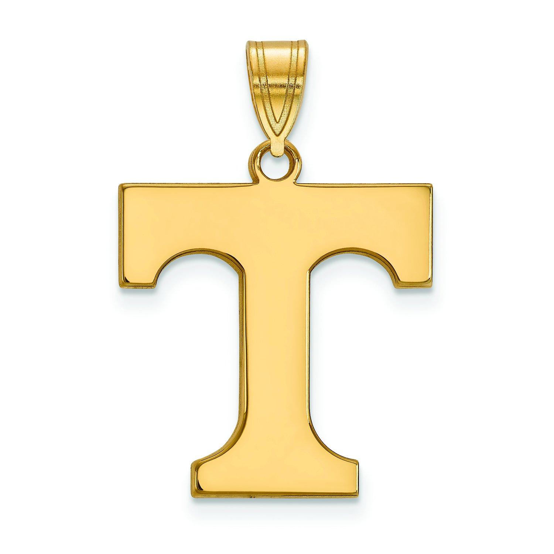 テネシー州Large ( 3 / 4インチ)ペンダント(ゴールドメッキ)   B01J012ZDY