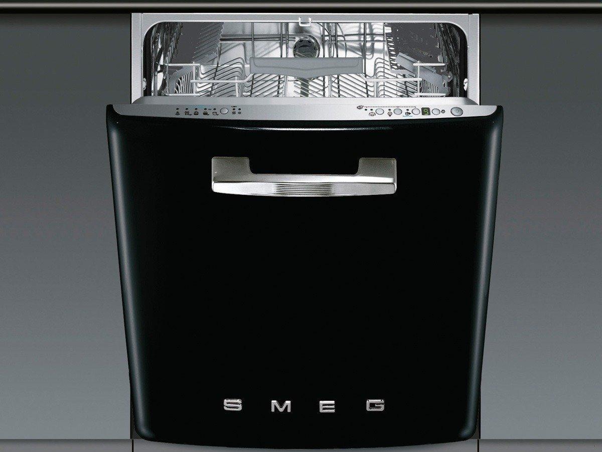 SMEG ST2FABNE2 Einbau-Geschirrspüler schwarz: Amazon.de: Elektro ...