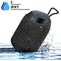 IPX7 Outdoor Waterproof Bluetooth Speakers - BUGANI Mini Diver Shower Speakers, Big Sound Brilliant Bass Shockproof ,Ultra-Portable for Traveling