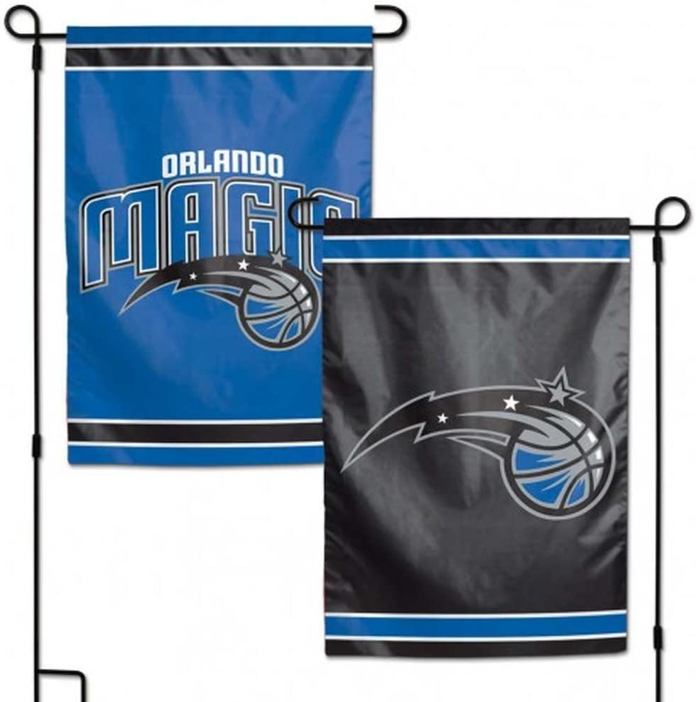 WinCraft NBA Orlando Magic Flag12x18 Garden Style 2 Sided Flag, Team Colors, One Size