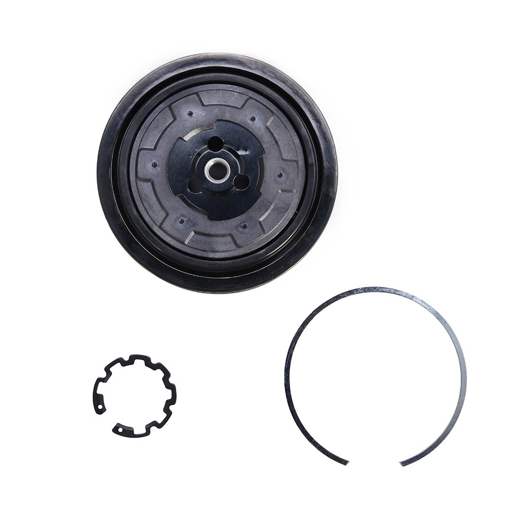 ACUMSTE A/C Compressor CLUTCH KIT for Mercedes Models 7SEU17C with 6 GROOVE PULLEY