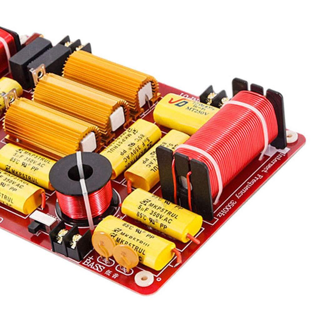 P Prettyia Module de Diviseur de Fr/équence Woofer Basse Fr/équence-Soft pour Haut-Parleur De 600 W