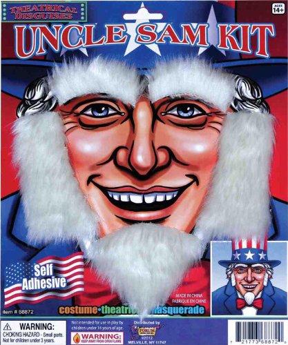 Uncle Sam Kit Adult Accessory - Uncle Sam Beard
