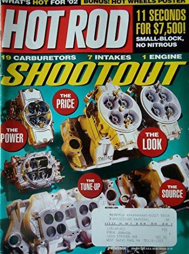 - Hot Rod Magazine January 2002