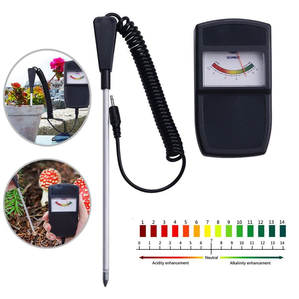 Cutogain Soil Moisture Meter PH Measuring Instrument Tester For Farm Plants Crops Flowers Vegetable