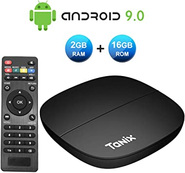 Android 8.1 TV Box, YAGALA K92 Android Smart Box con Amlogic S905X2 4GB DDR4 32GB eMMC Dual WiFi 2.4G/5.0G 1000M LAN Ethernet BT4.1: Amazon.es: Electrónica