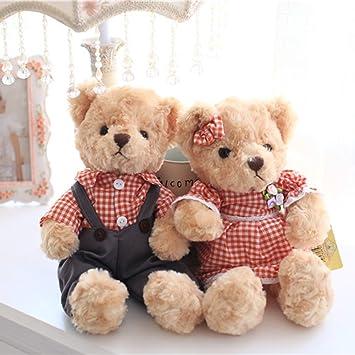 vercart petit nounours bourriquet amoureux ours en peluche habill teddy bear jouet oursons douce cadeaux pour - Petit Nounours