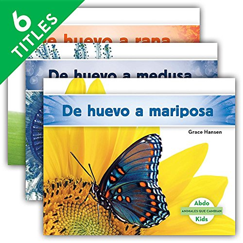 Animales que cambian/ Changing Animals (Spanish Edition) by Abdo Kids