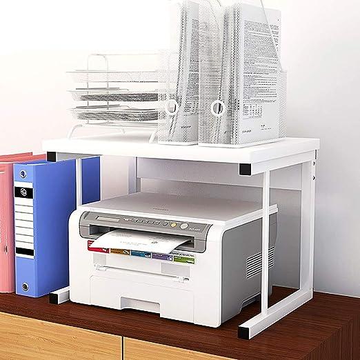 Office Supplies Estante de Fax de Impresora de Oficina de 2 Capas ...