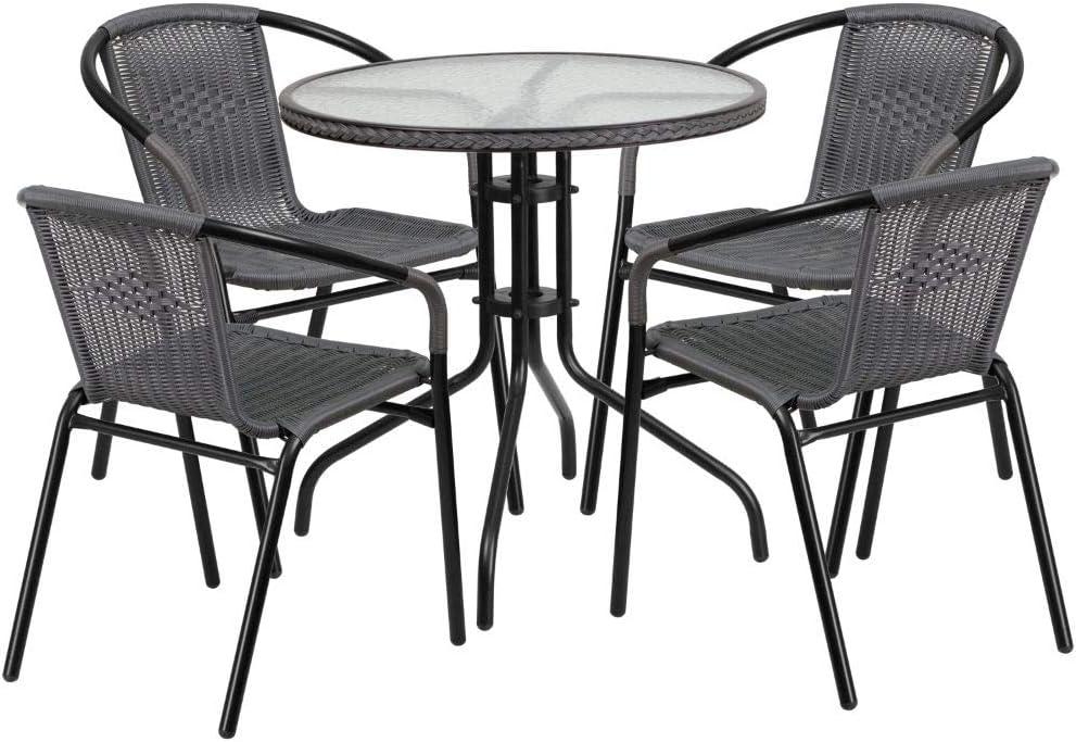 Flash Furniture 庭院家具5件套