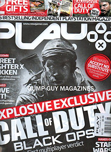 Play UK's Best Selling Independent Playstation Magazine EXPLOSIVE EXCLUSIVE: CALL OF DUTY BLACK OPS FIRST MULTIPLAYER VERDICT