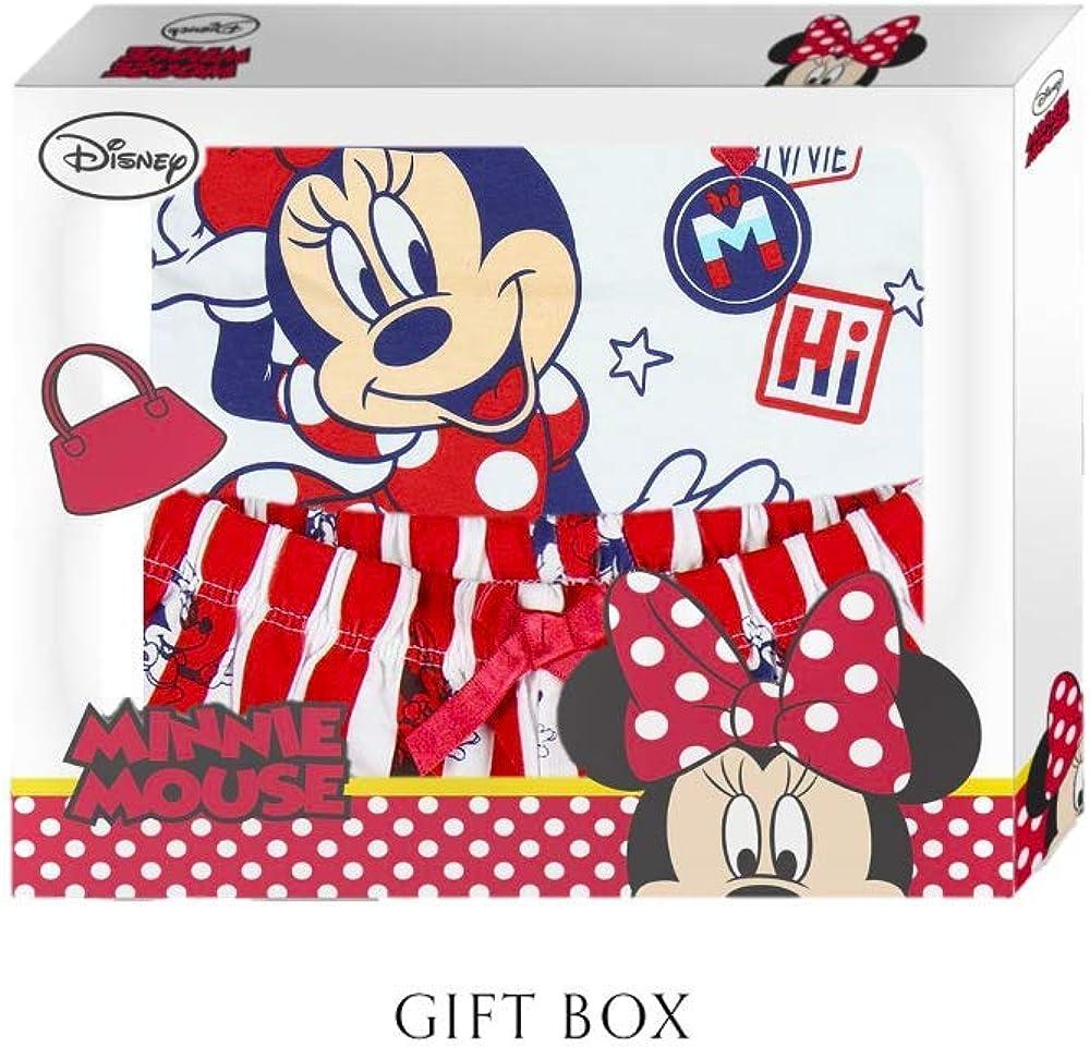 Pigiama estivo da bambina set da 12 a 36 mesi Disney Minnie Mouse super morbido traspirante e confortevole