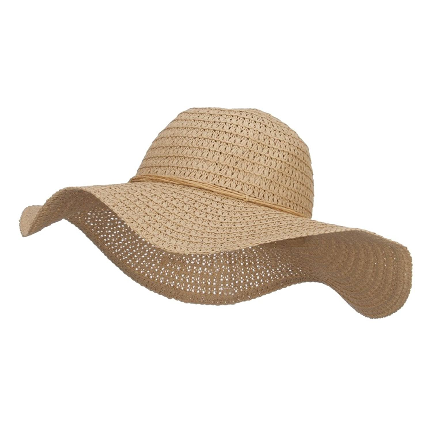 Floppy Hat with Coconut Ring Band