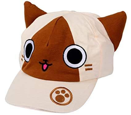 Ctmbb Monster Hunter Cat Airou Airu Cosplay Casquette De Basketball
