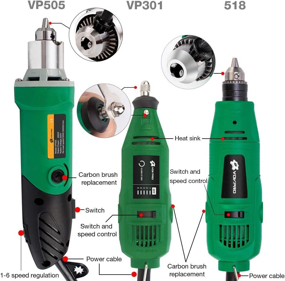 HTGW 180w/260w/480w Power Electric Drill Mini Engraver For Dremel Metalworking Drilling Machine Polishing (Color : B) A