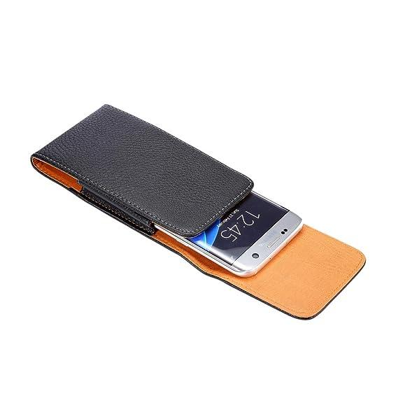 Amazon.com: Funda de piel sintética para teléfono móvil LG ...