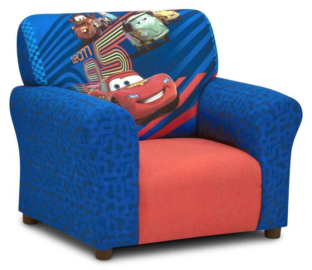 Multi-Colored Kidz World Disney Cars2 Club Chair 554658