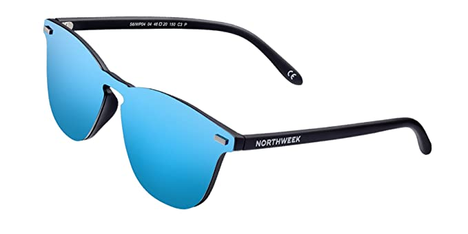 666ae20a0d NORTHWEEK Gafas de sol Wall Phantom Deck - ice blue: Amazon.es: Ropa y  accesorios