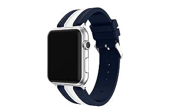 QQ Smart Digital Silicona reloj banda para Apple Watch iWatch serie 3 serie 2 serie 1 ...