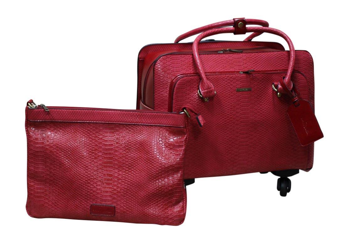 Simply Noelle Nile Roller Bag (Red)